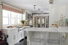 white kitchen cabinets with gold trim design ideas
