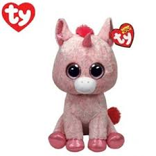buy ty beanie boo rosey unicorn plush toy graysonline australia