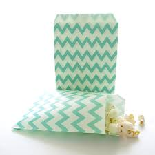 candy bags teal green paper candy bags kids party favor bags