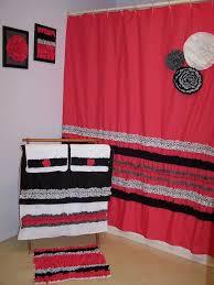 red and black bathroom ideas bathroom curtain sets ideas city gate beach road