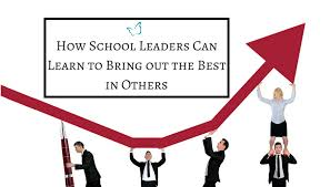 how leaders learn to bring out the best in others