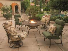 Tropitone Fire Pit by Sunvilla Veritas Aluminum Fire Pit Set Deck And Backyard Ideas