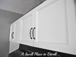 a swell place to dwell the kitchen finished cabinets and