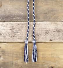 graduation cord all gifts blue and white graduation cord
