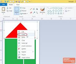 how to copy an image in ms paint windows 8