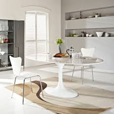 Unique Modern Home Decor by Unique Modern Oval Dining Table 92 For Your Modern Home Decor