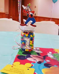 mickey mouse clubhouse centerpieces mickey mouse clubhouse theme birthday centerpiece my work