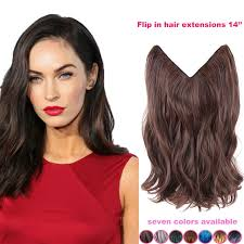 14 inch hair extensions 14inch brown hair no clip hair extension