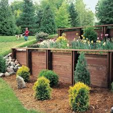 Garden Wall Paint Ideas Ideas Home Choosing The Proper Material For Your Garden Retaining