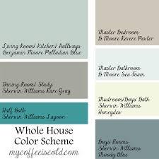 color schemes for home interior lake cottage paint colors morespoons 99e504a18d65