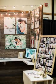 wedding expo backdrop simple but effective beautiful bridal show booth by snap