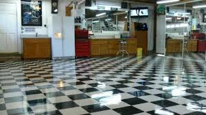 how to wax and maintain a vct garage floor all garage