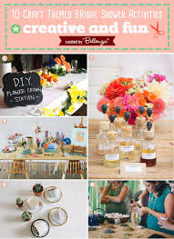 themed bridal shower 10 craft themed bridal shower activities
