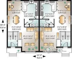 multi family plan w3051 detail from drummondhouseplans com