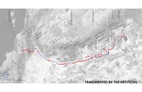 Los Angeles Aqueduct Map by Programming Fragmentation Manufactured Ecologies Of The Los
