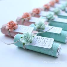 wedding giveaways mint wedding favors set of 200 mint rolls mint to be favors