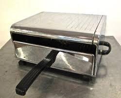 Vintage Toaster Oven Vintage Toaster Oven 1960s Midcentury Miss Fostoria By Mkmack