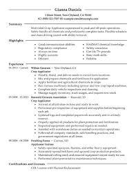 best applicator resume example livecareer