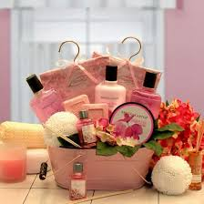 candle gift baskets pretty in pink aromatherapy gift basket aromatherapy gift