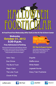 tonight 5 30p in costa misery u0027halloween foodtacular u0027 at oc fair