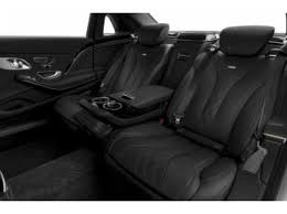 mercedes s class rear seats compare the 2017 s class maybach s 600 sedan mercedes