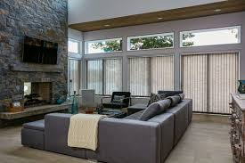 blinds interesting custom vertical blinds faux wood vertical custom vertical blinds fabric vertical blinds lowes contemporary family room interior decor grey window