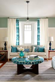 Turquoise Curtains For Living Room Photo Page Hgtv