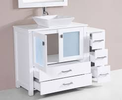 bathroom vanity with side cabinet bathroom decoration