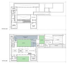 first u0026 second floor plan bright contemporary home in tokyo japan