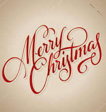 merry christmas modern merry christmas hand lettering vector illustration hand drawn