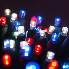 blue led christmas string lights 70 5mm red white and blue led christmas lights 4 spacing