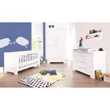 chambre bébé laqué blanc commode chambre bebe solutions pour la décoration intérieure de
