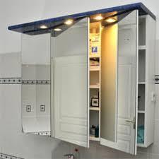 Meuble De Rangement Salle Bain Armoire 1 Miroir Miroir Avec Rangement Atlantic Bain