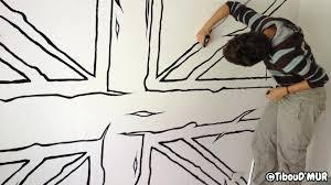 comment dessiner sur un mur de chambre dessin peinture mur idee dessin peinture murale 4 attrayant idee