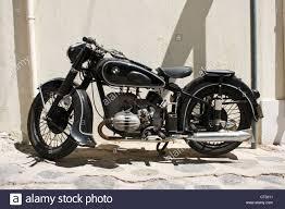 vintage bmw vintage bmw motorcycle in skopelos town on the island of skopelos