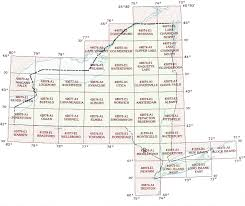 New York State Map New York Topographic Index Maps Ny State Usgs Topo Quads 24k