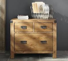 Decorative File Cabinets For The Home by Hendrix Lateral File Cabinet Pottery Barn