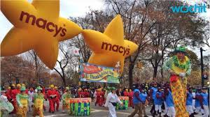 macy s thanksgiving parade line up