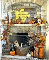 Halloween And Fall Decorations - fireplace decoration idea for halloween especially with the