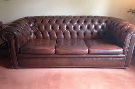 Leather Sofa Used Used Leather Sofa Penaime