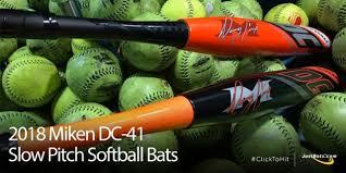 slowpitch softball bat reviews bat reviews 2018 miken dc 41 pitch softball bats