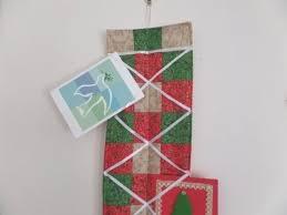 christmas card holder christmas card holder wall hanging pattern