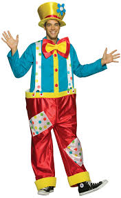 Scary Halloween Costumes Walmart Big Clown Funny Circus Joker Halloween Costume Walmart