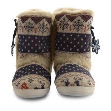 womens fur boots uk womens slippers boots dunlop fur winter warm booties