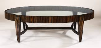 glass coffee tables glamorous oval glass top coffee tables