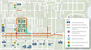 Chicago Bike Map Maps Transportation U0026 Shuttle Info Convocation The