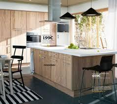 cuisine pas chere ikea cuisine ikea bois clair cuisine en image