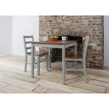 table and 2 chairs set annika bistro set with two chairs in silk grey noa nani