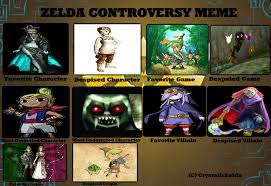 Zelda Memes - my zelda controversy meme by amelia411 on deviantart