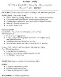 Unit Clerk Resume Sample Nursing Cover Letters Sles By Unit Clerk Resume Cover Letters